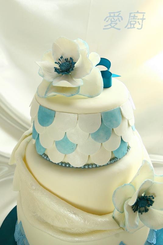 海葵花蛋糕(anemone cake)